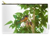 Oriole And Babies Carry-all Pouch