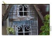 Ornamental Bird House Carry-all Pouch