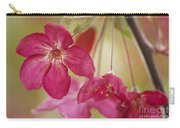 Ornamental Crabapple Blossom Carry-all Pouch