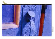 Ornate Blue Handle 2 Carry-all Pouch