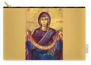 Orthodox Icon Virgin Mary Carry-all Pouch