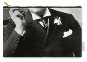 Oscar Wilde, Irish Author Carry-all Pouch by Photo Researchers