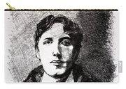 Oscar Wilde Carry-all Pouch by John  Nolan