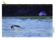 Osprey Cleaning The Lake  Carry-all Pouch