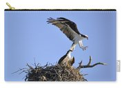 Osprey Coming In For A Landing Carry-all Pouch
