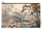 Ostrich Hunting, 1853 Carry-all Pouch