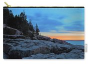 Otter Point At Dawn Carry-all Pouch