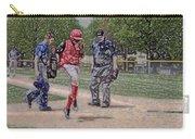 Ouch Baseball Foul Ball Digital Art Carry-all Pouch