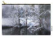 Our Pond In The Snow Carry-all Pouch