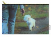 Out For A Stroll Carry-all Pouch by Karol Livote
