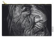Out Of Greaheadedness Wisdome Comes Forth Carry-all Pouch by Yenni Harrison