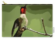 Out On A Limb - Green Carry-all Pouch