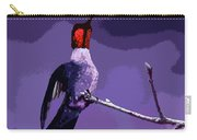 Out On A Limb - Purple Carry-all Pouch