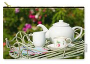 Outdoor Tea Party Carry-all Pouch by Amanda Elwell