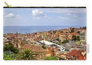 Over The Roofs Of Sanremo Carry-all Pouch by Joana Kruse