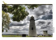 Overcast Clouds At Turkey Point Lighthouse Carry-all Pouch