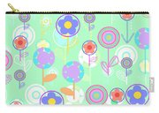 Overlayer Flowers  Carry-all Pouch