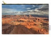 Overlooking Dead Horse Point Carry-all Pouch