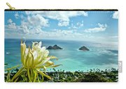 Overlooking Lanikai Beach Carry-all Pouch
