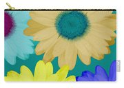 Oversize Daisies Carry-all Pouch