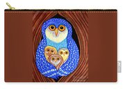 Owl And Owlettes Carry-all Pouch