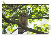 Owl In Central Park Carry-all Pouch