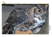 Owl Together Now Carry-all Pouch by LeeAnn McLaneGoetz McLaneGoetzStudioLLCcom