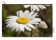Ox-eye Daisy Wildflowers Drenched In Dew Carry-all Pouch