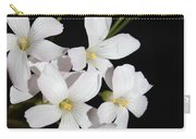 Oxalis Flowers 3 Carry-all Pouch
