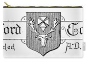 Oxford: Coat Of Arms Carry-all Pouch