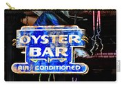 Oyster Bar Sign Carry-all Pouch