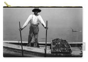 Oyster Fishing On The Chesapeake Bay - Maryland - C 1905 Carry-all Pouch