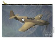 P 51 Mustang On A Mission Carry-all Pouch