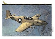 P51 Mustang In Flight Carry-all Pouch