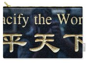 Pacify The World Carry-all Pouch