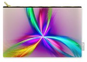 Pacock-feathers Carry-all Pouch