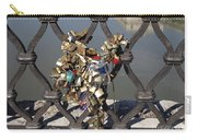 Padlocks On Bridge. Rome Carry-all Pouch
