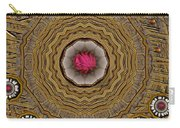 Pagoda Of Lotus Pop Art Carry-all Pouch