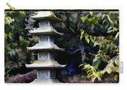 Pagoda Tower Of Zen Carry-all Pouch