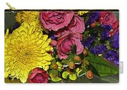 Painted Bouquet Carry-all Pouch