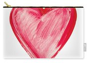 Painted Heart - Symbol Of Love Carry-all Pouch