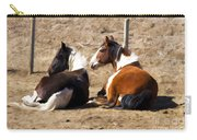 Painted Horses I Carry-all Pouch