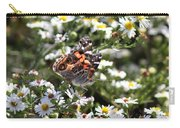 Painted Lady - Surrounded In White Carry-all Pouch