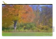 Painted Leaves Of Autumn Carry-all Pouch