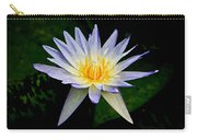 Painted Lily And Pads Carry-all Pouch