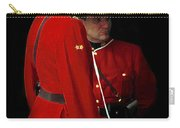 Painted Mounties Carry-all Pouch