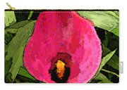 Painted Pink Cala Lily Carry-all Pouch