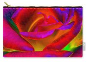 Painted Rose 1 Carry-all Pouch