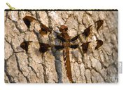 Painted Skimmer On Oak Carry-all Pouch