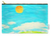 Painting Of Nature In Spring And Summer Carry-all Pouch